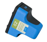 HP 02 C8771WN remanufactured Cyan ink cartridge