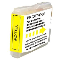 Brother LC65HYY compatible Yellow ink cartridge
