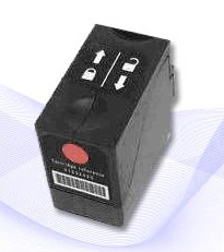 Hasler WJ215 remanufactured red ink cartridge-4124703Q