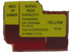 Canon BJI-201y compatible Yellow ink tank